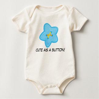 Cute As A Button Infant Creeper