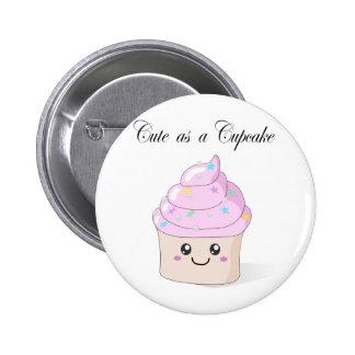 Cute as a Cupcake 2 Inch Round Button