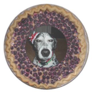 Cute as Pie Framed Photo Plate