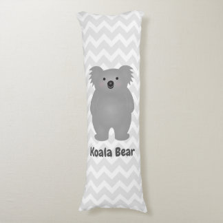 Cute Australia Baby Koala Bear Add Your Name Body Pillow