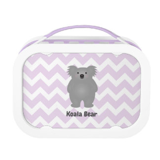 Cute Australia Baby Koala Bear Add Your Name Lunch Box
