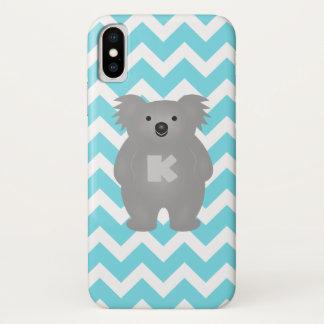 Cute Australia Baby Koala Bear Monogram Case-Mate iPhone Case
