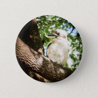 Cute Australia Kookaburra 2 Inch Round Button