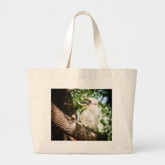 Cute Australia Kookaburra Large Tote Bag