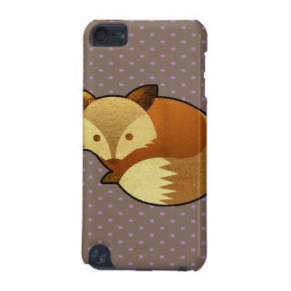 Cute Autumn Fox iPod Touch (5th Generation) Case
