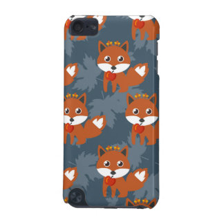Cute Autumn Fox Pattern iPod Touch 5G Cover