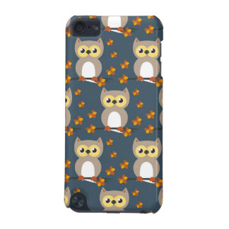 Cute Autumn Owl Pattern iPod Touch (5th Generation) Cover