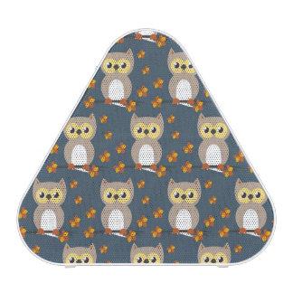 Cute Autumn Owl Pattern Speaker