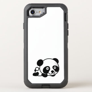 cute baby animal fun joy happy beautiful OtterBox defender iPhone 8/7 case