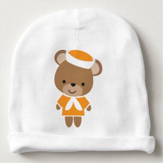 Cute Baby Animal Sailor Bear Baby Beanie