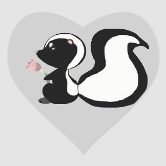Cute Baby Animals Skunk Stickers/Envelope Seals