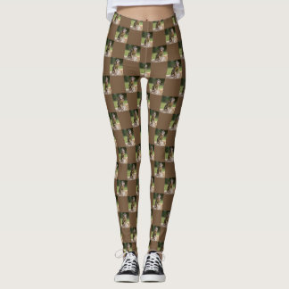 Cute baby ape leggings
