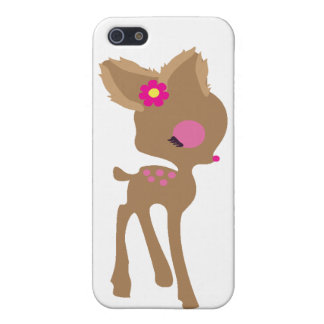 cute baby bambi iphone5 case cover for iPhone 5/5S