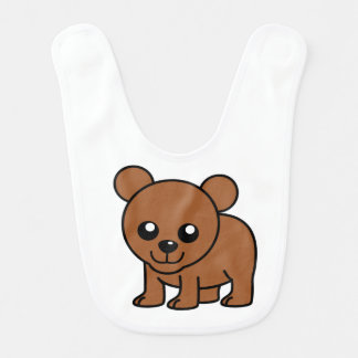 Cute Baby Bear Bib