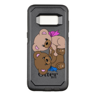 Cute Baby Bears Digital Image Print OtterBox Commuter Samsung Galaxy S8 Case