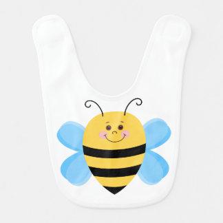 Cute Baby Bee Baby Bibs