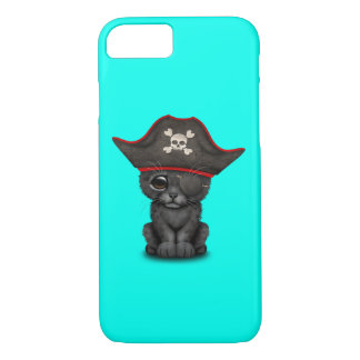 Cute Baby Black Panther Cub Pirate iPhone 8/7 Case