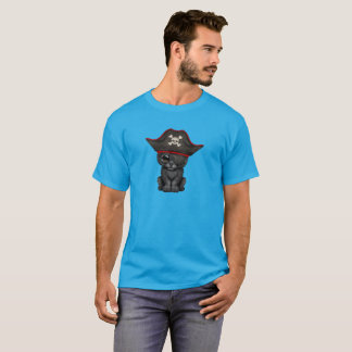 Cute Baby Black Panther Cub Pirate T-Shirt