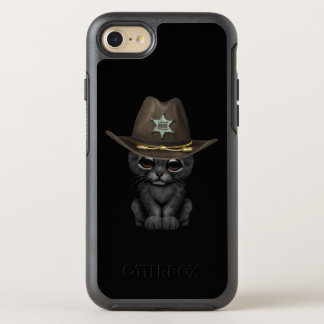 Cute Baby Black Panther Cub Sheriff OtterBox Symmetry iPhone 8/7 Case