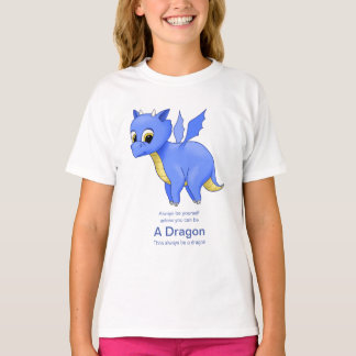 Cute Baby Blue Dragon T-Shirt