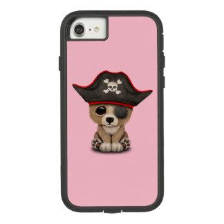 Cute Baby Brown Bear Cub Pirate Case-Mate Tough Extreme iPhone 8/7 Case