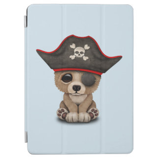 Cute Baby Brown Bear Cub Pirate iPad Air Cover