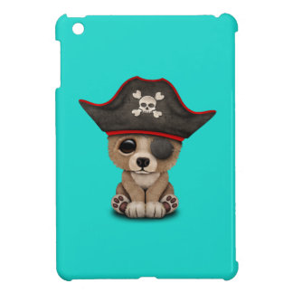 Cute Baby Brown Bear Cub Pirate iPad Mini Cases