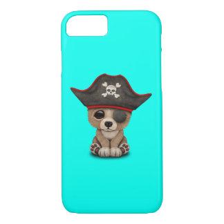 Cute Baby Brown Bear Cub Pirate iPhone 8/7 Case