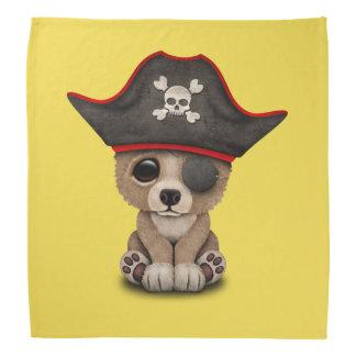 Cute Baby Brown Bear Cub Pirate Kerchiefs