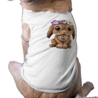 Cute Baby Bunny Hippie Doggie Tee