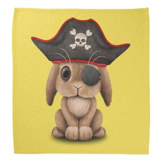 Cute Baby Bunny Pirate Bandana