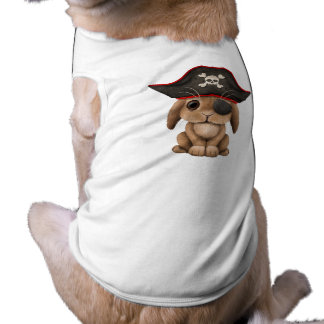 Cute Baby Bunny Pirate Doggie T-shirt