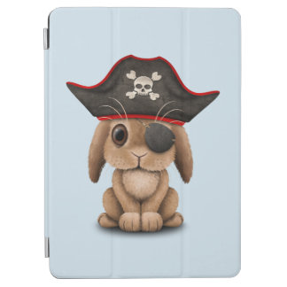 Cute Baby Bunny Pirate iPad Air Cover