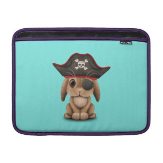 Cute Baby Bunny Pirate Sleeve For MacBook Air