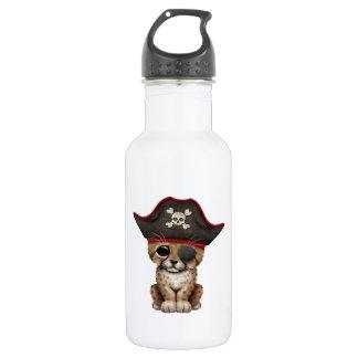 Cute Baby Cheetah Cub Pirate 532 Ml Water Bottle