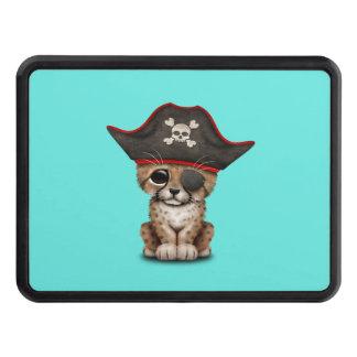 Cute Baby Cheetah Cub Pirate Trailer Hitch Cover