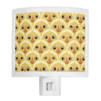 Cute Baby Chicks Yellow Night Light