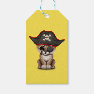 Cute Baby Cougar Cub Pirate Gift Tags