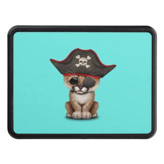 Cute Baby Cougar Cub Pirate Trailer Hitch Cover