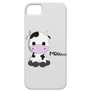 Cute baby cow cartoon kids iPhone 5 cover