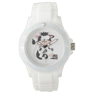 Cute Baby Cow Cartoon Wrist Watches