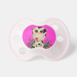 Cute Baby Cow Pacifier for Baby Girls
