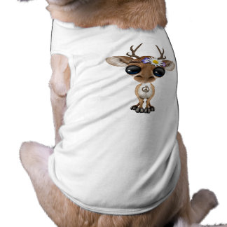 Cute Baby Deer Hippie Shirt