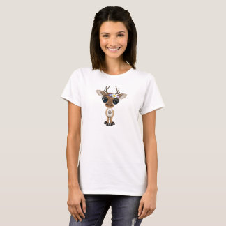 Cute Baby Deer Hippie T-Shirt