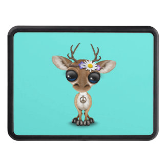 Cute Baby Deer Hippie Trailer Hitch Cover