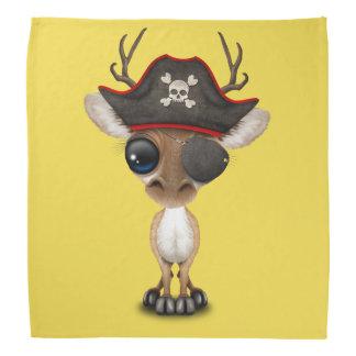Cute Baby Deer Pirate Bandana
