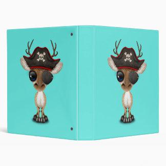 Cute Baby Deer Pirate Binders