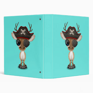 Cute Baby Deer Pirate Binders