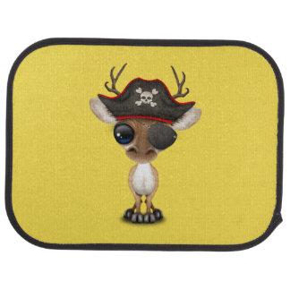 Cute Baby Deer Pirate Car Mat