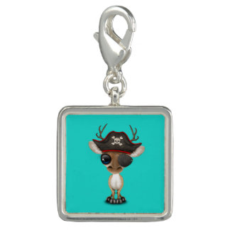 Cute Baby Deer Pirate Charm